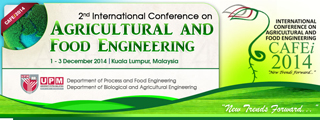 International Conference on Agricultural and Food Engineering (CAFEi2014)
